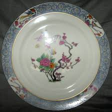 china lenox lenox ming birds black green st