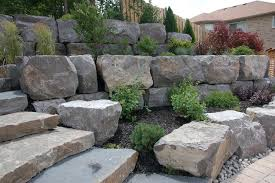 Rustic Landscaping Ideas by Gardens U0026 Armour Stone Rustic Landscape Toronto By Melanie