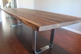 live edge dining room table live edge wood furniture custommade