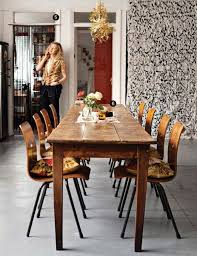 long thin dining table a long skinny dining table vintage farmhouse eclectic home