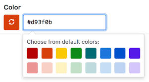 New Colors Creating A Label User Documentation