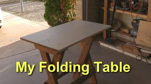 retractable table an amazing folding table youtube
