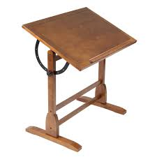 Wood Drafting Table Studio Designs 42 Vintage Drafting Table Color Rustic Oak 13305