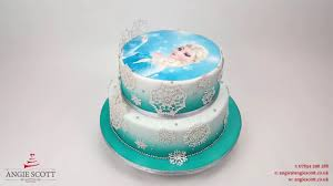 children s birthday cakes elsa from frozen childrens birthday cake by angie cakes