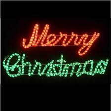 led merry christmas light sign outdoor led red and green light merry christmas motif light