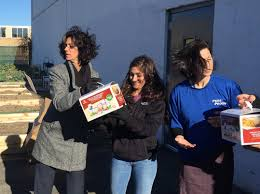nbty donates 300 turkeys to island harvest food bank just in time