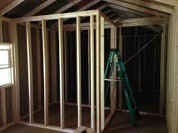 Tiny Home Design Tips Final Framing Interior Walls Of The Tiny House St Bernard Acres