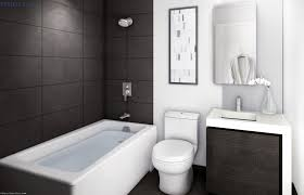 small bathroom with tub