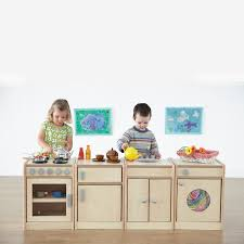 childrens wooden kitchen furniture buy play wooden kitchen unit collection tts