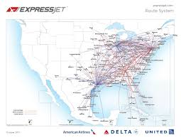 Delta Route Maps by Where We Fly
