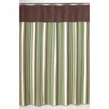 Green And Brown Curtains Green Fabric Shower Curtain Foter