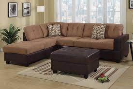 Faux Leather Sectional Sofa Hagan Saddle Faux Leather Sectional Sofa A Sofa Furniture