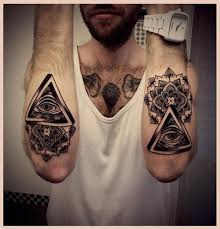 3d knot abstract awesome small tattoos for design idea for