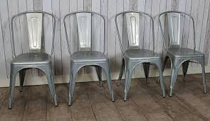 Galvanized Bistro Chair Galvanized Bistro Chair Metal Chair Industrial Bistro