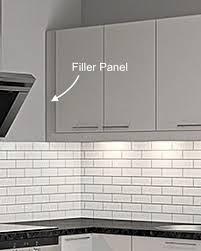 ikea kitchen cabinet filler panels bespoke filler panel