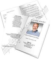 funeral program paper blank funeral program template memorial