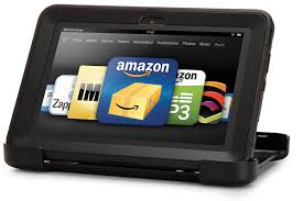 amazon com otterbox defender series for kindle fire hd 8 9 black