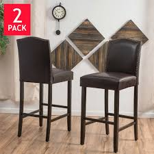 Swivel Counter Stools With Back Counter Height Barstools Costco