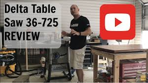 delta downdraft sanding table table saw review delta 36 725 youtube