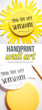 you are my sunshine craft sun handprint the best ideas for kids