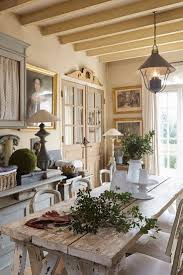 french country house interior