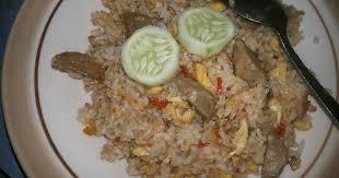 cara membuat nasi goreng untuk satu porsi 29 resep nasi goreng telur 1 piring enak dan sederhana cookpad