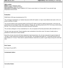 drainage report template drainage report template professional templates for you