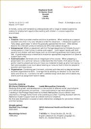 Resume Format For Jobs In Singapore by Good Resume Templates