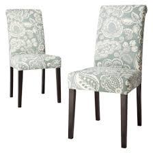avington dining chair blue paisley set of 2 yourpicks www