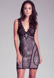 bebe v neck lace dress bodycon classic from bebe another