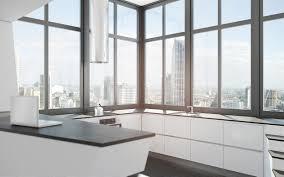 futuristic kitchen design entrancing white futuristic kitchen with black color granite