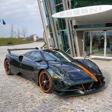 pagani huayra 2018 pagani huayra bc with green carbon