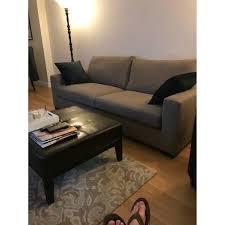 Room And Board Ottoman Room Board Beckett Sofa Leather Ottoman Aptdeco