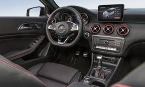 mercedes a class transmission 2016 mercedes a class facelift debuts more power more tech