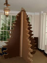 cardboard wish tree at the white house see saw