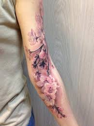 the 50 best cherry blossom tattoos inked tattooblend