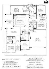 1 4 bedroom house plans bedroom 4 bedroom floor plans one