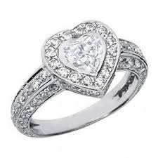 Heart Shaped Wedding Rings by Heart Shaped Engagement Rings That Make Your Wedding Unique 4