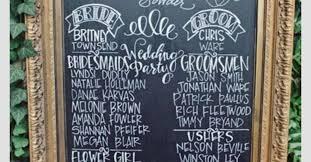 wedding program chalkboard diy wedding chalkboard program hometalk