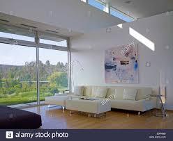 double height living room in sharpe residence somis california