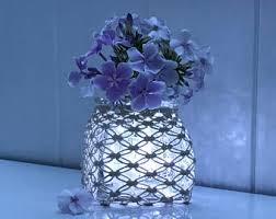 Square Glass Vase Square Glass Vase Etsy