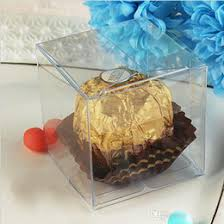 candy containers for favors discount clear candy boxes wedding favors 2017 clear candy boxes