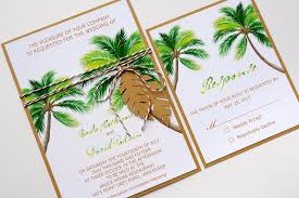 palm tree wedding invitations palm tree wedding invitations sunshinebizsolutions