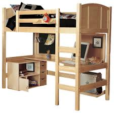 radia twin loft bed with media cart contemporary loft beds