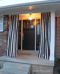 Cheap Patio Door by Outdoor Curtains Diy Interior U0026 Exterior Doors