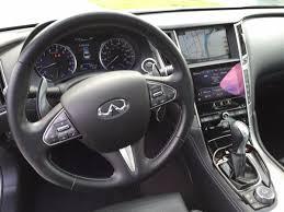 infiniti q50 interior on the road review infiniti q50 red sport sedan mount desert