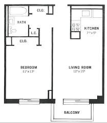 floor plan for one bedroom house simple 1 bedroom house plans fresh ideas 1 bedroom house plans