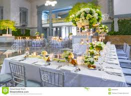 wedding table decorations stock photo image of linens 28956950