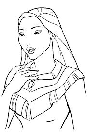 coloring pages disney princess arterey