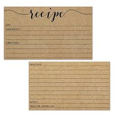 wedding advice card wedding advice cards recipe cards size 3x5 small kraft brown